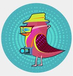 Bird-hipsters vector