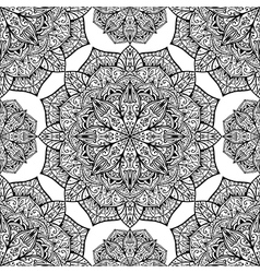 Background with mandalas vector