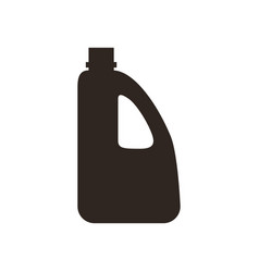 Bottle plastic object vector