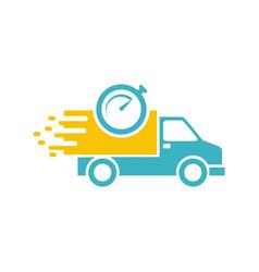 Car delivery logo vector