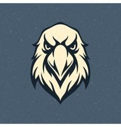 Eagle head logo emblem template vector