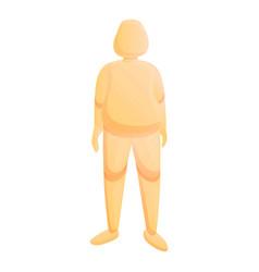 Kid mannequin icon cartoon style vector