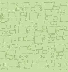 Modern hand drawn squares and rectangles vector