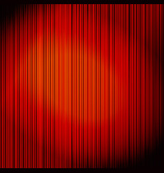 Red curtain on theater vector