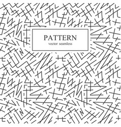 seamless striped sketch pattern vector image