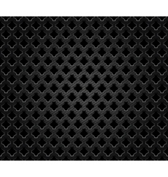 Abstract perforated metal vector image vector image