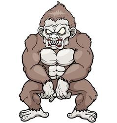 Monkey Monster vector image vector image
