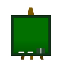 A view of a blackboard vector image