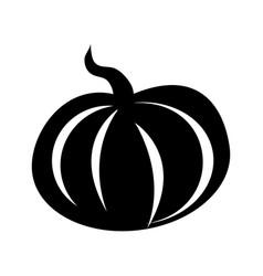 Pumpkin vegetable icon vector