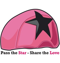 Share the Love vector image