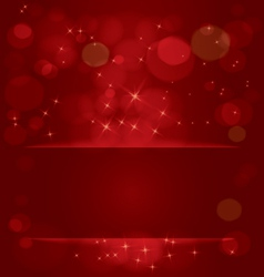 Sparkling stars and light vector image