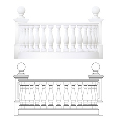 Balcony vector