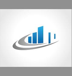 building city logo vector image
