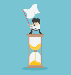 management time business concept cartoon vector image