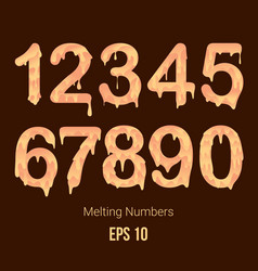 Melting number vector