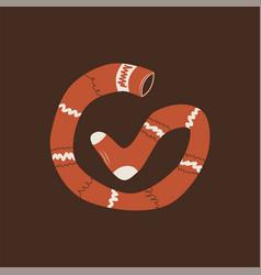 pippi longstocking icon stocking logo eps vector image