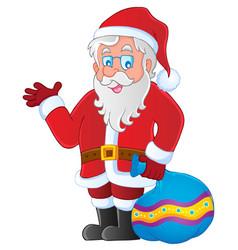 Santa claus thematic image 3 vector