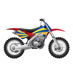 Sport motorcycle vector