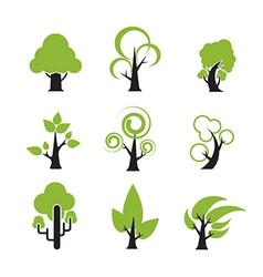 Tree Icon 002 vector image
