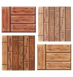 Wood textures vector