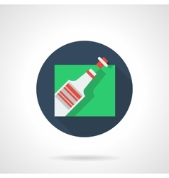 Celebrations flat color icon vector image