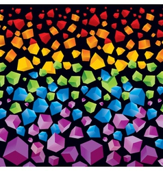 abstract colorful background for your desig vector image vector image