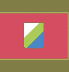 Abruzzo flag vector