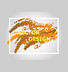 Abstract background with orange gradient vector