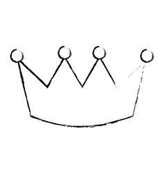 Crown luxury royal monarchy icon vector