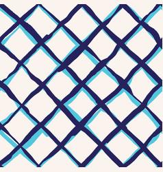 diagonal cross brush strokes seamless pattern vector image