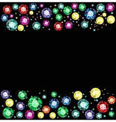 Gem Background vector