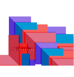 multicolored abstract geometric shapes geometry vector image