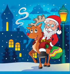 Santa claus thematic image 8 vector