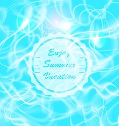 Summer Water Reflections vector
