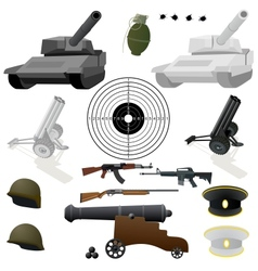 The military set vector