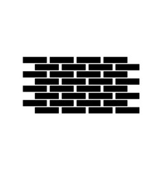 wall the black color icon vector image