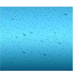 Water drop background vector image vector image