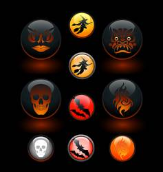 icon-o-lanterns vector image
