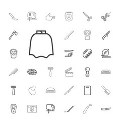 33 cut icons vector