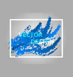 Abstract background with blue gradient vector