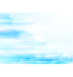 blue abstract geometric shiny transparent motion vector image
