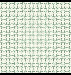 Classic green design pattern background vector