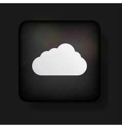 Computer cloud icon vector image