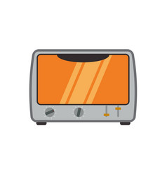 electric oven household appliance vector image