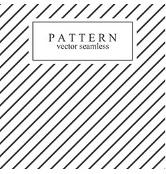 minimal geometric striped seamless pattern vector image vector image
