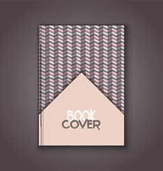 Retro book cover 0104 vector