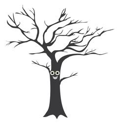 Tree smile vector