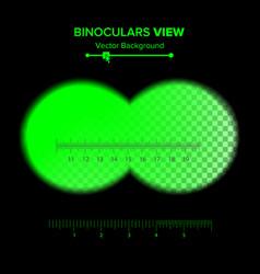 binoculars view of binoculars vector image