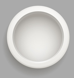 Abstract background of grey circle vector