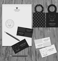 brand book for the company vector image